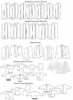 "18 IN Doll Patterns | Free 18"" Inch Doll Clothes Patterns by Karen Neals"
