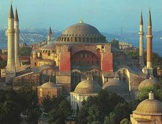 Hagia-Sophia  ~~  I can't believe I can remember this art history lesson from high school so vividly!!