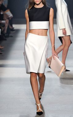 Most Wanted: Narciso Rodriguez's Elegant Crop Top Ensemble