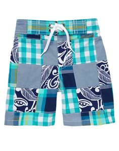 Tropical Patchwork Shorts at Gymboree