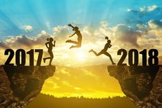 Top Happy New Year 2018 Wallpaper Jump From 2017 To 2018