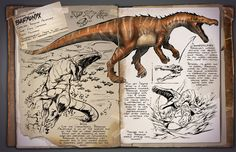 Baryonyx ARK: Survival Evolved