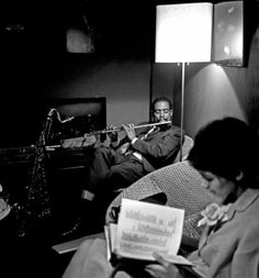 Eric Dolphy - Dolphy's big break after playing with regional bands on the west coast for some years, was his employment by nationally known and respected Chico Hamilton.