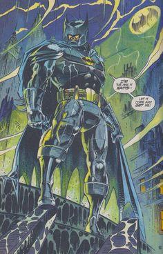 Pre 52 pre Knightfall Bats by Andy Kubert