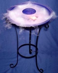 Been enjoying this in my home for years now, love it :)    Magic fog sky ocean mist fogger water fountain