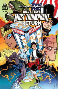 BOOM! Gives Bill & Ted a Most Triumphant Return! - What'cha Reading?