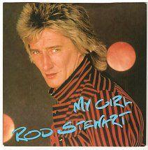 45cat - Rod Stewart - My Girl / She Won't Dance With Me - Riva - UK - RIVA 28