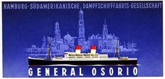 General Osorio 1929, Hamburg Südamerikanische DG (HSDG), Alemania