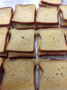 Grill cheese are delicious.