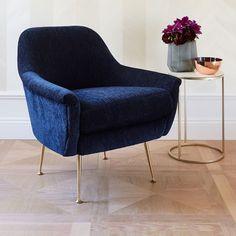 Erik Upholstered Wing Chair | west elm