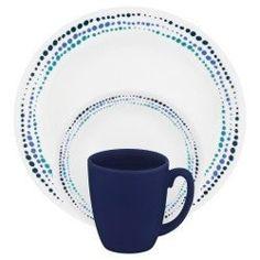 Corelle® Livingware™ Ocean Blues Farfurie întinsă 21.6 cm | CORELLE®…