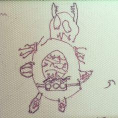 娘が描いた仮面ライダーオーズ ガタキリバコンボ。 これ増殖したらコワイよw - @kazzen   Webstagram