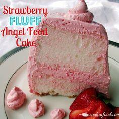 Recipe For Strawberry Fluff Angel Food Cake