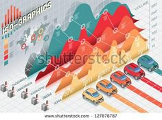 stock-vector-isometric-infographic-histogram-set-elements-with-cars-127876787.jpg (450×334)
