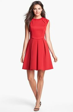 Hailey by Adrianna Papell Cap Sleeve Ponte Knit Dress (Online Only) available at #Nordstrom