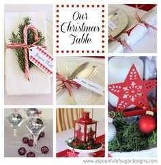 Our Christmas Table | A Spoonful of Sugar