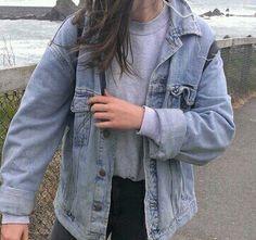 Jacket mezclilla