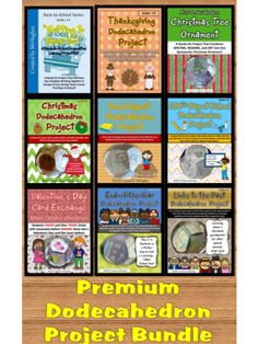 Browse our dodecahedron projects bundle!