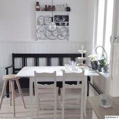 keittiö,keittiön sisustus,maalaisromanttinen,maalaisromanttinen sisustus,musta
