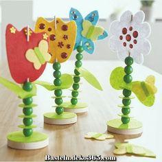 Sachenmacher Filzstecker Blumen Day Crafts for Kids Felt Crafts, Easy Crafts, Diy And Crafts, Mothers Day Crafts For Kids, Diy For Kids, Easter Crafts For Kids, Preschool Crafts, Spring Projects, Craft Projects