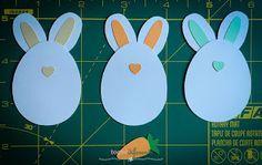 Cartão Feliz Páscoa! Coelhinho da páscoa feito com a Silhouette Cameo  Happy Easter Card (bunny cut with Silhouette Cameo)