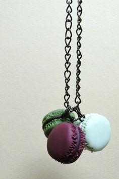 Hey, I found this really awesome Etsy listing at https://www.etsy.com/listing/200599357/three-macarons-necklace-brass-fimo