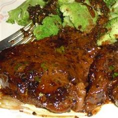 Brandy Flamed Peppercorn Steak Allrecipes.com... tried this today.... with my own twist! Great