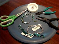 How To Make Your Own Glass Bead Jewelry - Bracelet