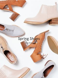 Spring Shoes // Email Design // Need Supply Co.  close up, pattern, simple.