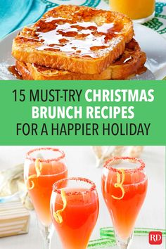 Spend your time building memories with family and friends instead of in the kitchen with these must-try Christmas brunch recipes. #christmasrecipes #christmas #brunch #christmasbrunch #brunchrecipes