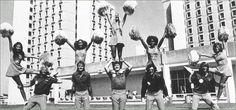 University of Miami Cheerleaders 1970's