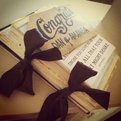 Easily turn all of your wedding or special cards into a card 'book'!!