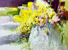 Shin Jong Sik ~ Korean Watercolor painter | Tutt'Art@ | Pittura * Scultura * Poesia * Musica |