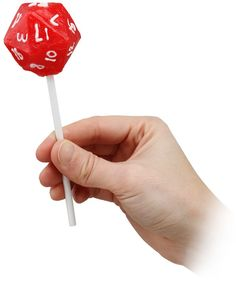 D20 Lollipop
