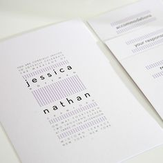 minimalist wedding | Modern Wedding Invitation - Dots, Polka Dots, Invitation - Modern, Mod ...