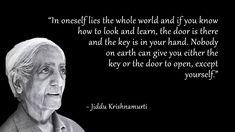 key and the door