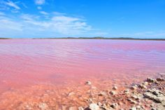 El lago Hillier, en Australia