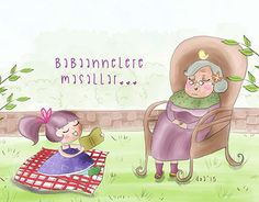 """Check out new work on my @Behance portfolio: """"Babaannelere Masallar"""" http://on.be.net/1Ncdvo9"""