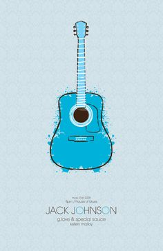 Event Posters by Aaron Bryce Fischer, via Behance Type Posters, Band Posters, Poster Prints, Event Posters, Music Posters, Graphic Design Projects, Graphic Design Posters, Jack Johnson, Bindi