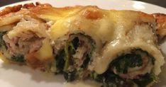 Sushi, Bacon, Meat, Chicken, Ethnic Recipes, Food, Essen, Meals, Yemek