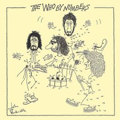 ☮ American Hippie Rock Music Album Cover Art Posters ~ The Who - The Who By Numbers