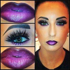 Makeup look flawless