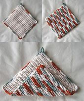 Ravelry: Beginners Crochet Potholder pattern by Sandy Marie