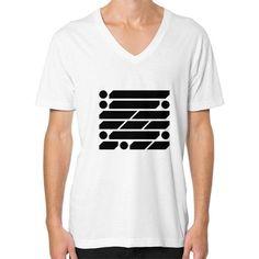 M_O_R_S_E Dark Variant V-Neck (on man) Shirt