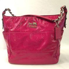Selling this Pink Coach Shoulder Purse! in my Poshmark closet! My username is: beautyfashions. #shopmycloset #poshmark #fashion #shopping #style #forsale #Coach #Handbags