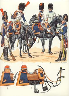 Grenadiers a cheval 1804-1815 (pl 23) 1