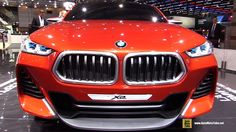 BMW X2 Concept - Walkaround - Debut at 2016 Paris Motor Show