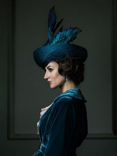 """Katherine Kelly, who costars in """"Mr. Selfridge,"""" a series about famed department store Selfridges. Photo by Jim Fiscus."""