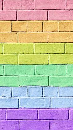 Imagen de wallpaper, background, and colors - Monika - Trend Baby Rainbow 2020 Rainbow Wallpaper, Iphone Background Wallpaper, Tumblr Wallpaper, Colorful Wallpaper, Galaxy Wallpaper, Aesthetic Iphone Wallpaper, Screen Wallpaper, Cool Wallpaper, Aesthetic Wallpapers