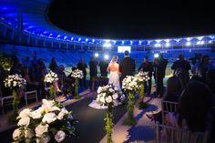 O 1º Casamento Real no Maracanã - Aline Bordalo e Alexandre Araújo - Foto Alexandre Rechtman